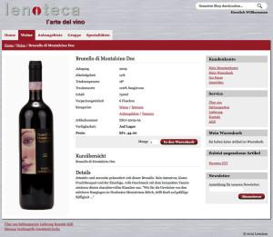 Lenoteca - l'arte del vino